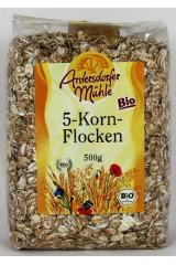 Fulgi  din 5 cereale
